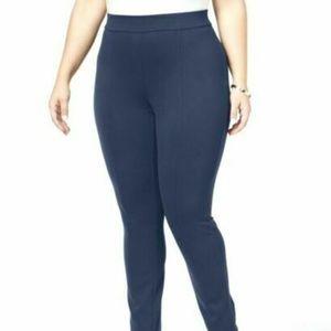 Style & Co. Women's PLUS Ponte Leggings - Blue